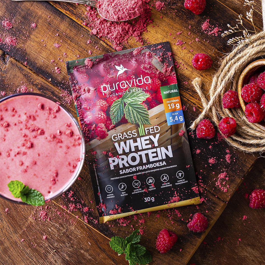 Whey Protein da Puravida na AMARO