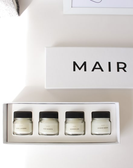 MAIR KIT PRESENTE VELAS POCKET MINIMALIST COLLECTION