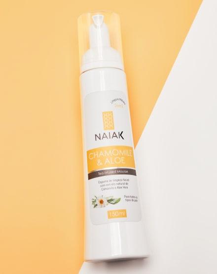 NAIAK CHAMOMILE & ALOE - ESPUMA DE LIMPEZA - 150 ML