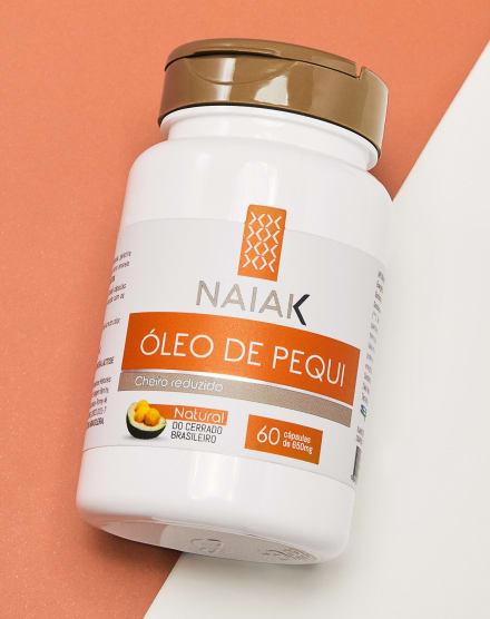 NAIAK ÓLEO DE PEQUI - 60 CÁPS