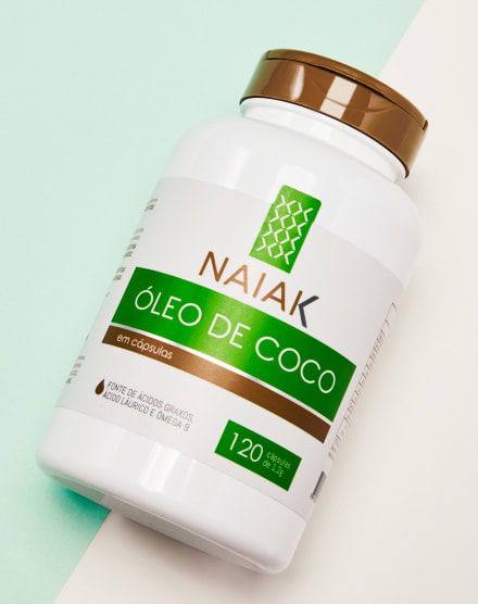 NAIAK ÓLEO DE COCO -120 CÁPS