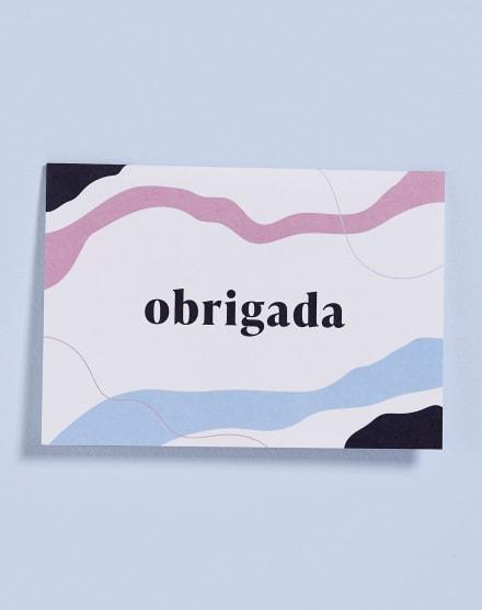CARTÃO OBRIGADA