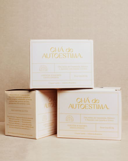 CHÁ DE AUTOESTIMA KIT 3 BLENDS