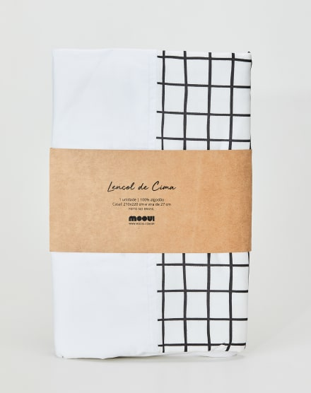 MOOUI LENÇOL DE COBRIR CASAL