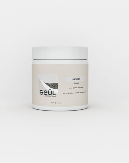 SEUL MÁSCARA ARGILA - 500G