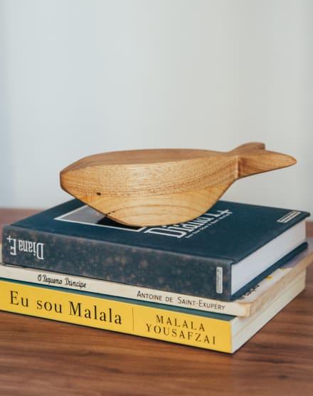 WET AND WOOD MINIATURA BALEIA
