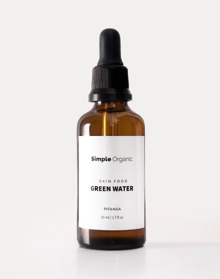 SIMPLE ORGANIC GREEN WATER DE PITANGA - 100% NATURAL