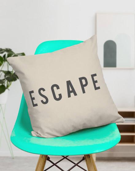 DESIGN UP LIVING CAPA DE ALMOFADA ESCAPE 42X42