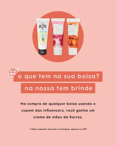 BAG PROMOCIONAL KORRES OLÉO DE AMÊNDOAS