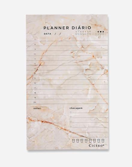 CICERO PLANNER BLOCO DIÁRIO 12X20