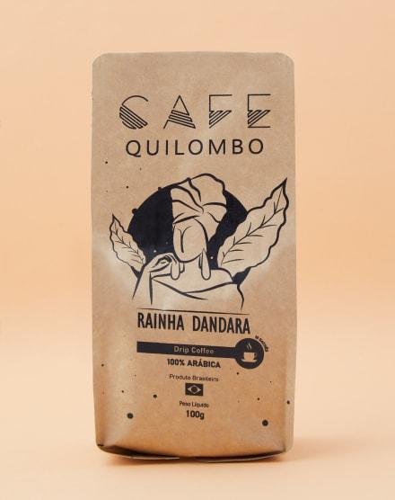 CAFÉ QUILOMBO DRIP COFFEE RAINHA DANDARA - 10 UNIDADES