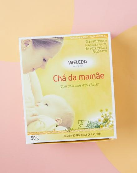 WELEDA CHÁ DA MAMÃE COM 60 SACHES - EMBALAGEM ECONÔMICA