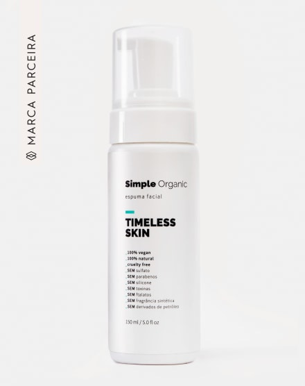 SIMPLE ORGANIC ESPUMA FACIAL TIMELESS SKIN