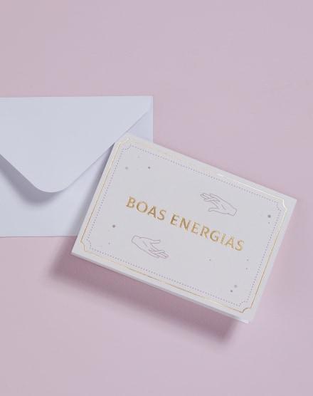 CARTÃO BOAS ENERGIAS
