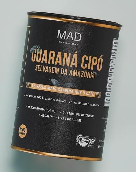 MAD GUARANÁ CIPÓ EM PÓ  - 100G
