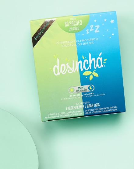 DESINCHÁ MISTO DIA+NOITE - 60 SACHÊS