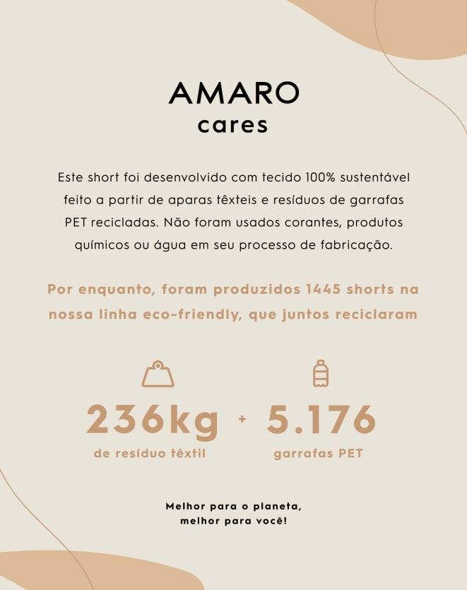 SHORTS ALONGADO SARJADO