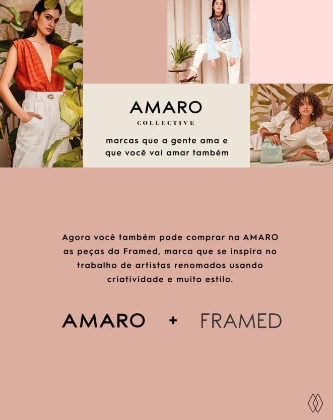 FRAMED CAMISA XADREZ AMPLA MADELEINE
