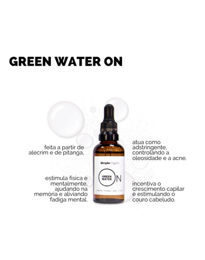 SIMPLE ORGANIC GREEN WATER ON