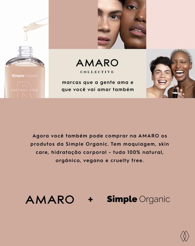 SIMPLE ORGANIC MÁSCARA DE ARGILA CONTROL