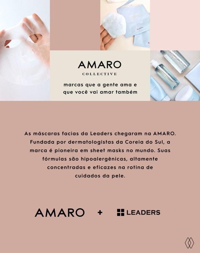 LEADERS DISCO DUPLA FACE ESFOLIANTE PARA LIMPEZA FACIAL - 5 UNIDADES