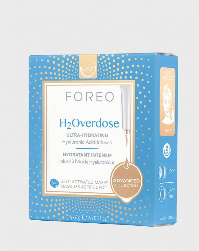 FOREO UFO MASKS H2OVERDOSE X 6