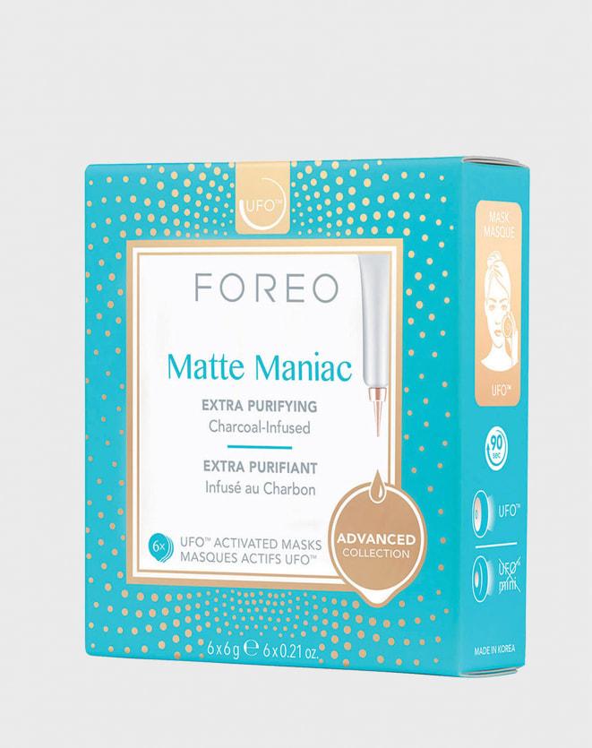 FOREO UFO MASKS MATTE MANIAC X 6