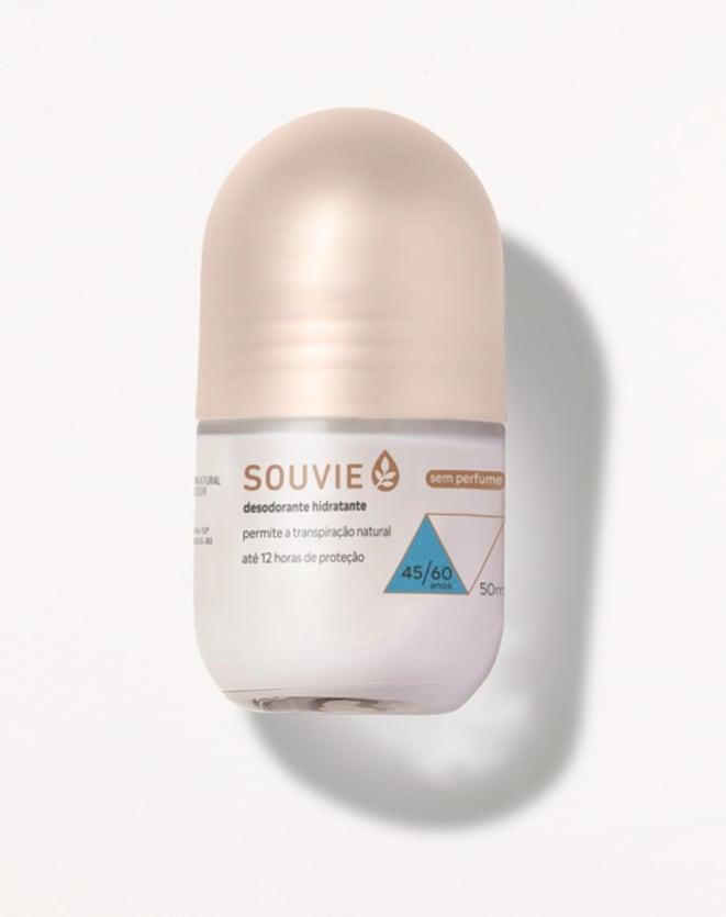 SOUVIE DESODORANTE HIDRATANTE SEM PERFUME - 50ML