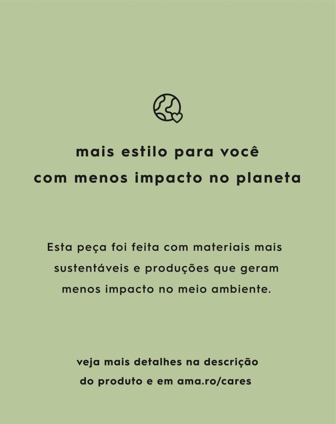 CALÇA PANTALONA DETALHES EM CONTRASTE