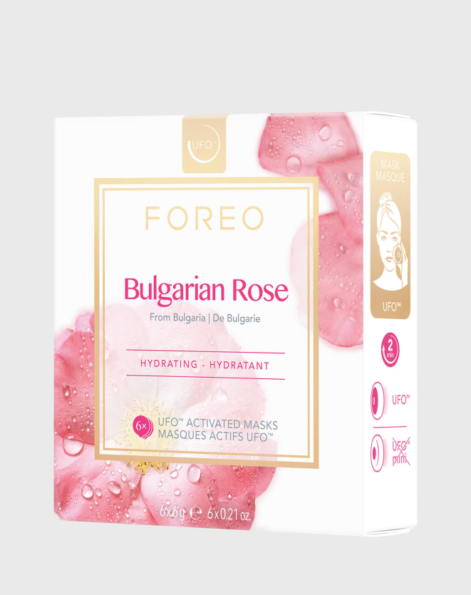 FOREO UFO MASK BULGARIAN ROSE X 6