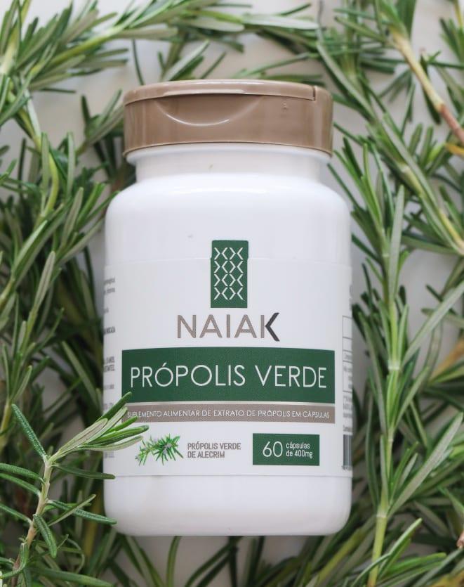 NAIAK PRÓPOLIS VERDE - 60 CÁPS