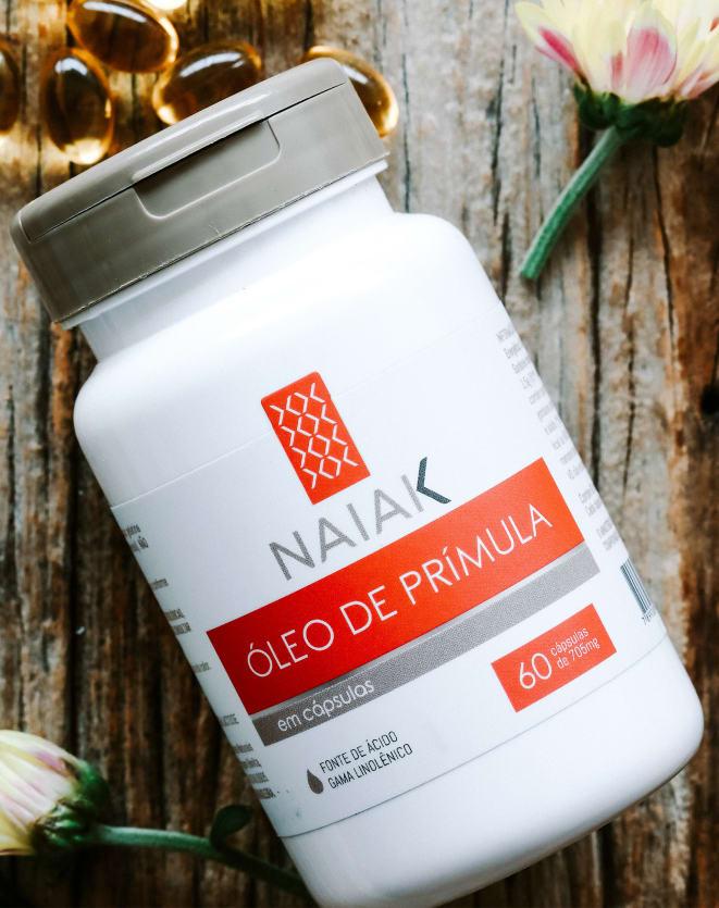 NAIAK ÓLEO DE PRÍMULA - 60 CÁPS