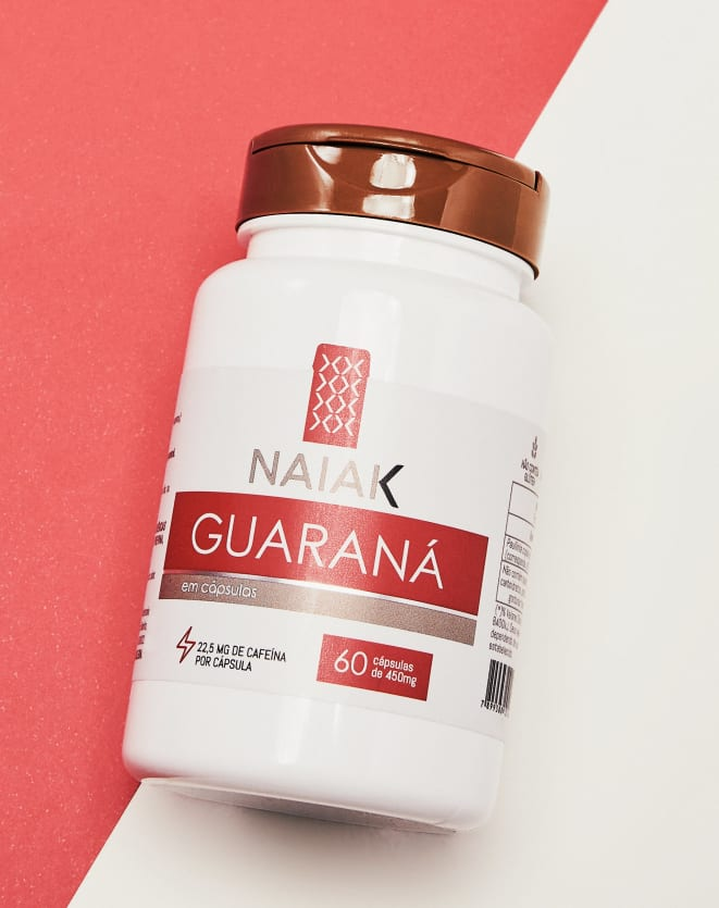 NAIAK GUARANÁ - 60 CÁPS