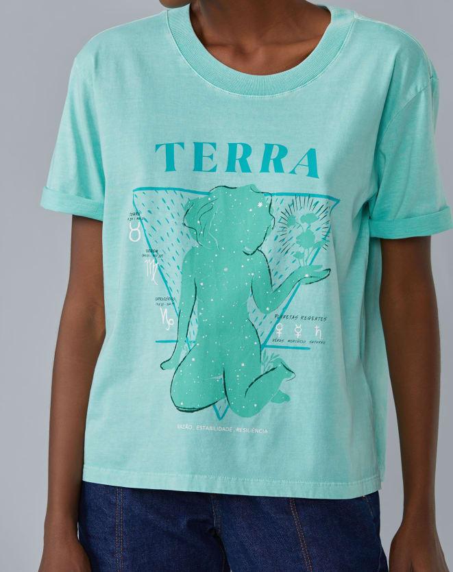 T-SHIRT ELEMENTO TERRA