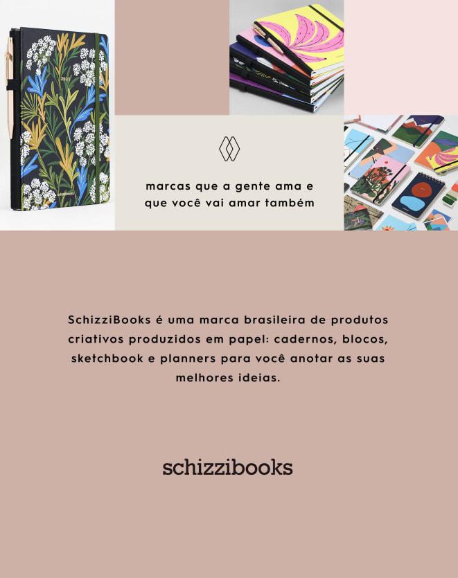 SCHIZZIBOOKS CADERNO JOURNAL