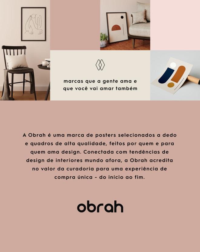 OBRAH POSTER DESCONSTRUÇÃO I - 42 X 59,4CM