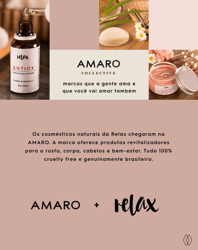 RELAX ÓLEO DE BANHO E MASSAGEM