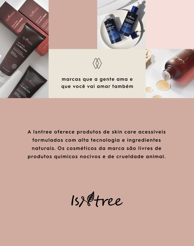 ISNTREE MÁSCARA CALMANTE DE ROSAS