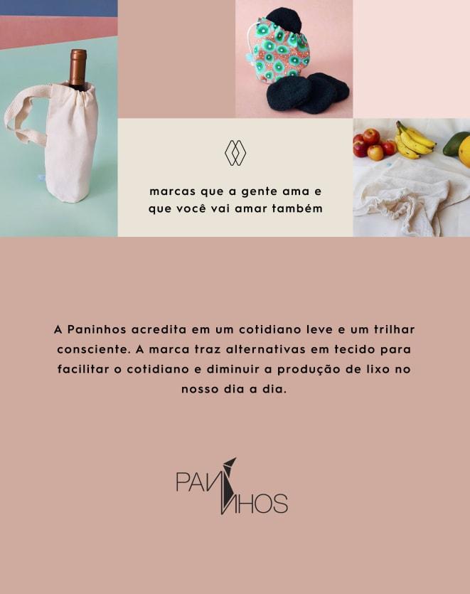 PANINHOS KIT DE SAQUINHOS DE REDINHA