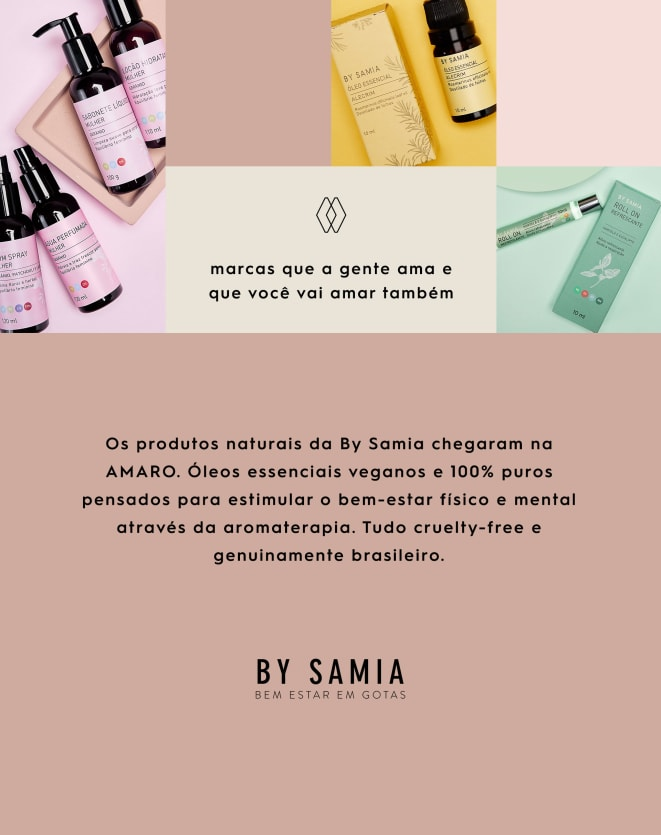 BY SAMIA ÓLEO ESSENCIAL - 10ML