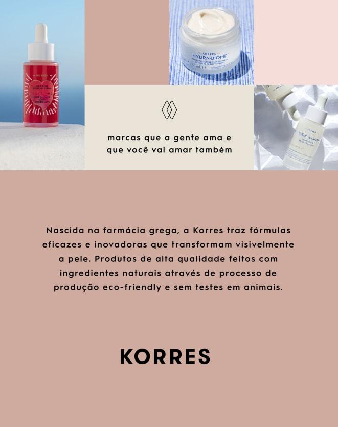 KORRES CREME GEL FACIAL NUTRITIVO PROBIÓTICO GREEK YOGHURT - 40ML