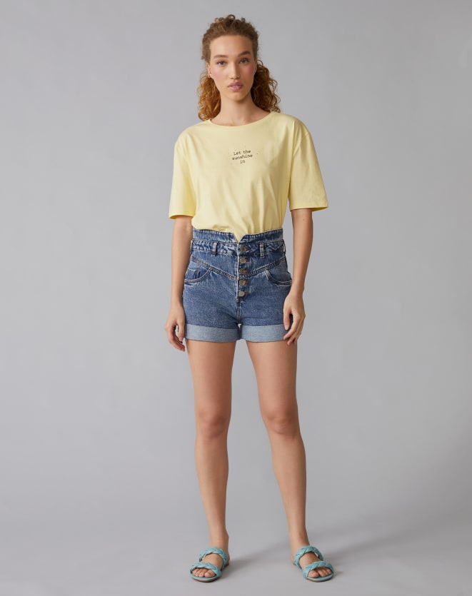 T-SHIRT LET THE SUNSHINE IN