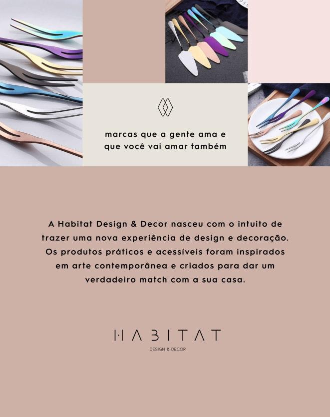 HABITAT DESIGN & DECOR CONJUNTO DE 4 FACAS DE QUEIJO