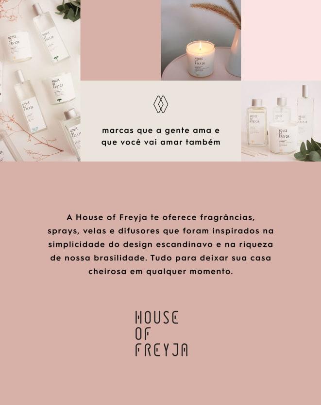 HOUSE OF FREYJA DIFUSOR DE VARETAS COLEÇÃO BIOMAS 250 ML