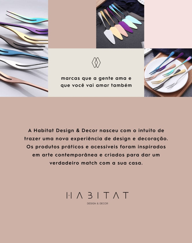 HABITAT DESIGN & DECOR GARFINHO DE PETISCO UNI.