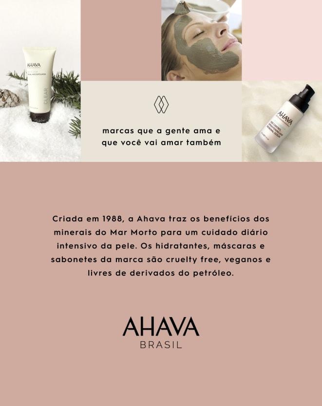 AHAVA MINERAL HAND CREAM - 100ML