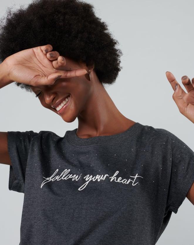 T-SHIRT FOLLOW YOUR HEART