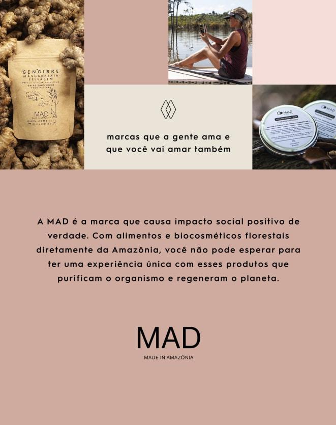 MAD GUARANÁ CIPÓ EM PÓ - 180G