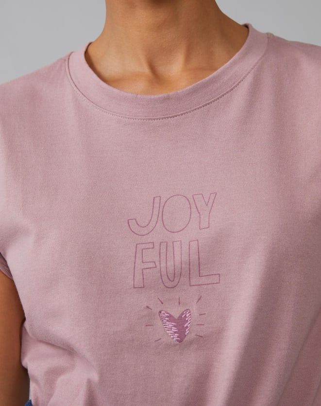 T-SHIRT JOYFULL HEART