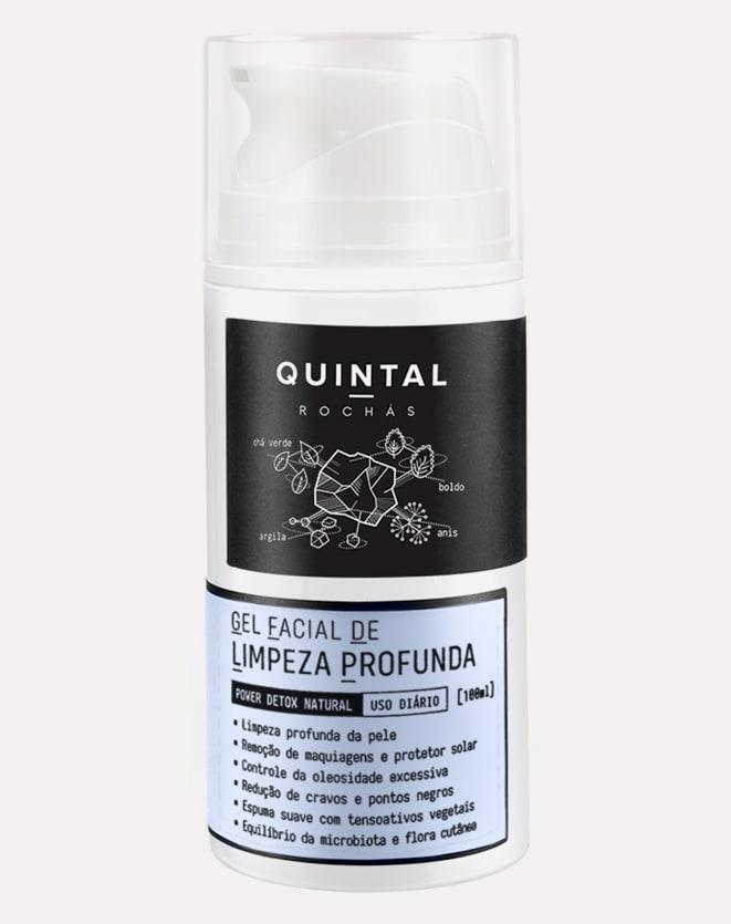 QUINTAL GEL FACIAL DE LIMPEZA PROFUNDA - 100ML